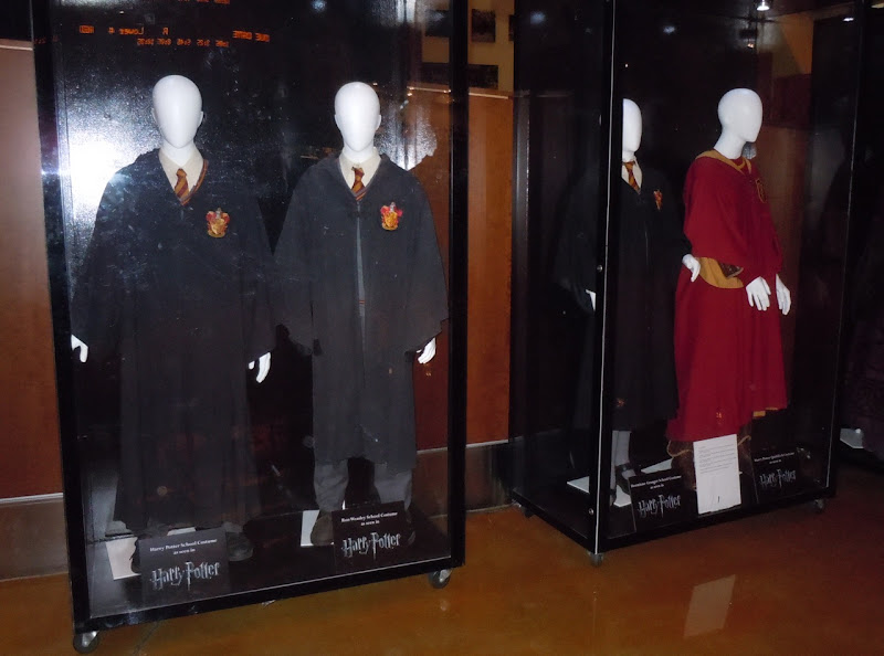 Original Harry Potter movie costume display