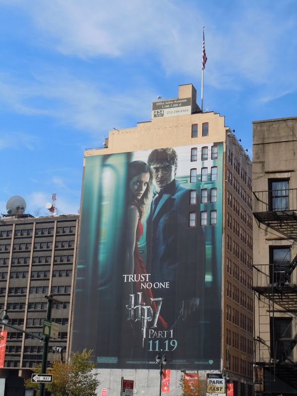 Harry Potter 7 Trust No One billboard