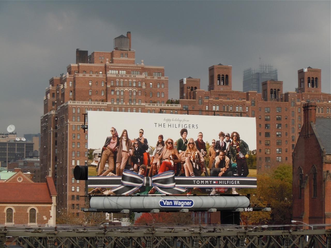 Billboard Christmas New York