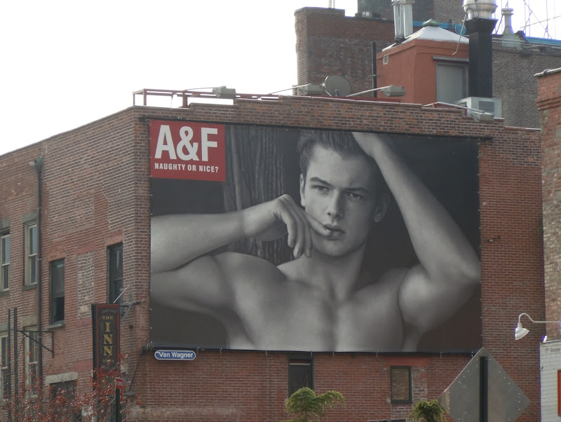 Abercrombie Naughty or Nice billboard
