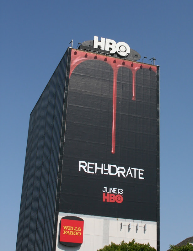 True Bloods Rehydrate billboard