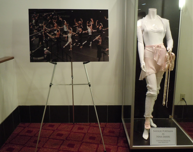 Black Swan movie costume display