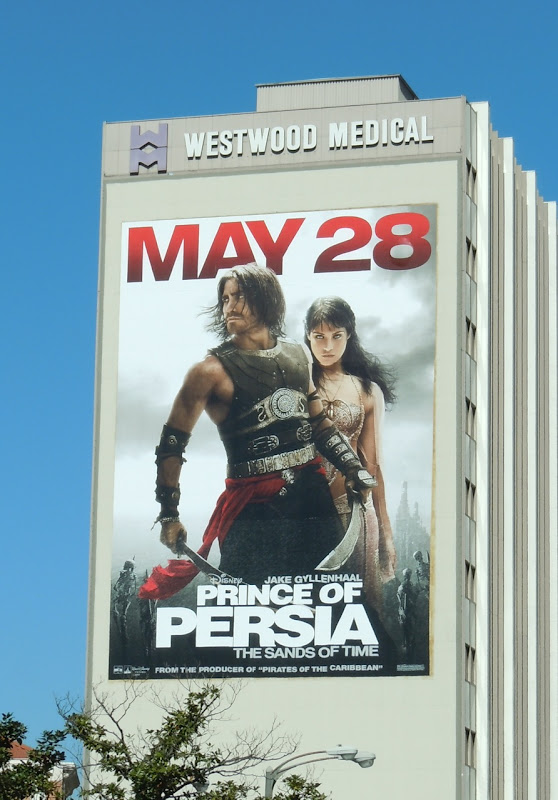 Prince of Persia movie billboard