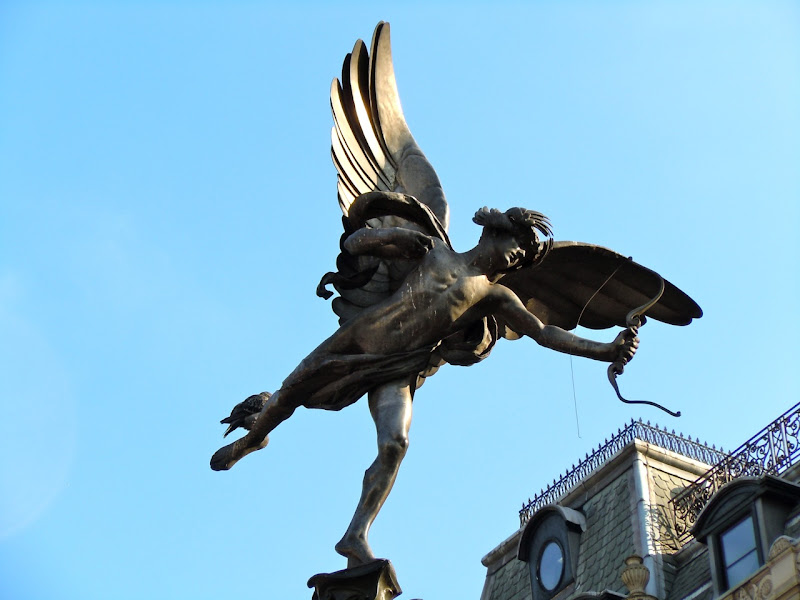Eros Statue Piccadilly Circus