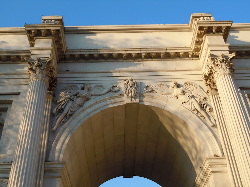 Marble Arch angels
