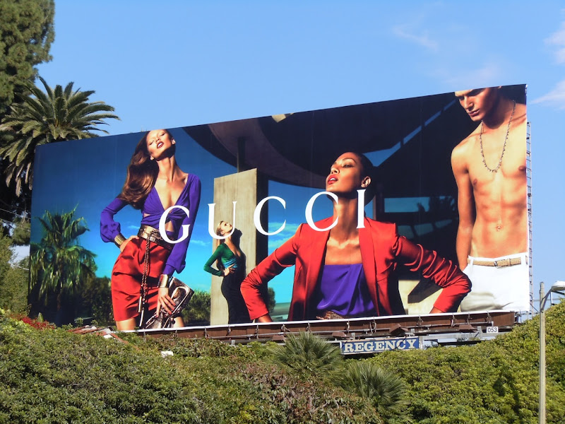 Gucci Spring 2011 fashion billboard
