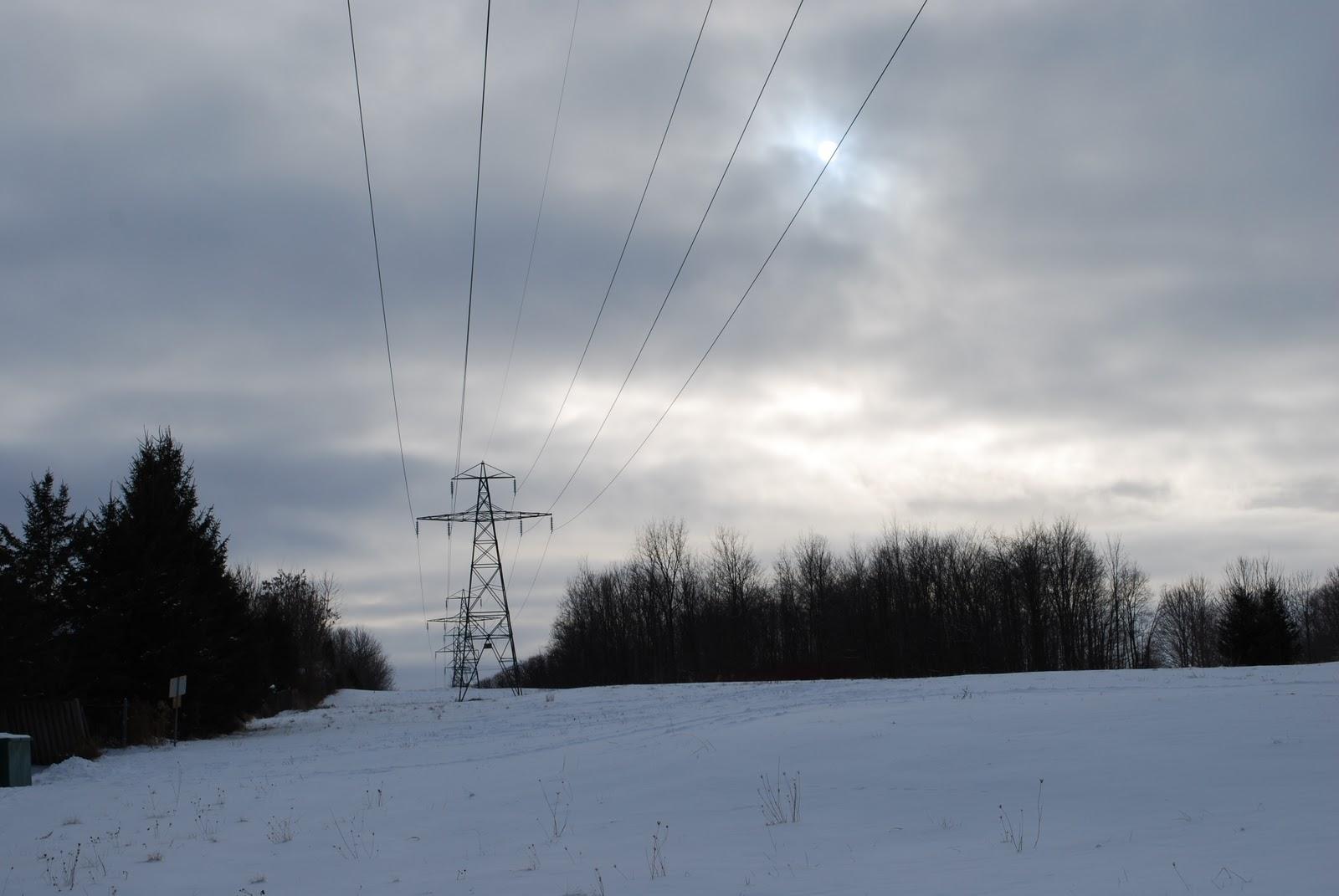 230KV power lines