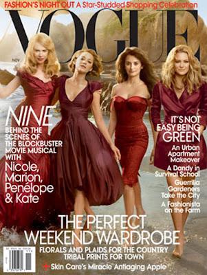 eee6e1caa52 Melhores e piores capas da Vogue - Mulher só é fiel à moda