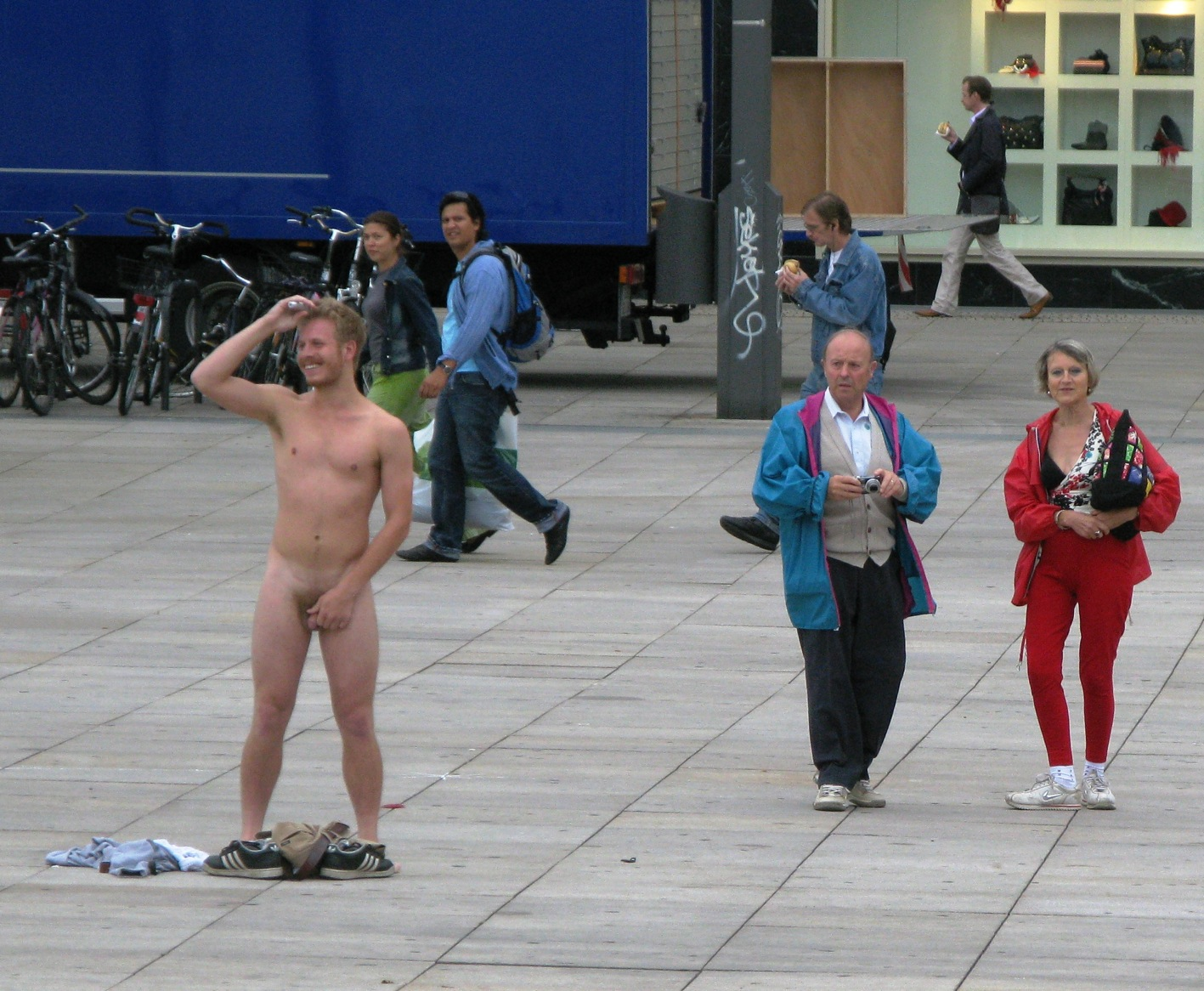 Public display of erection