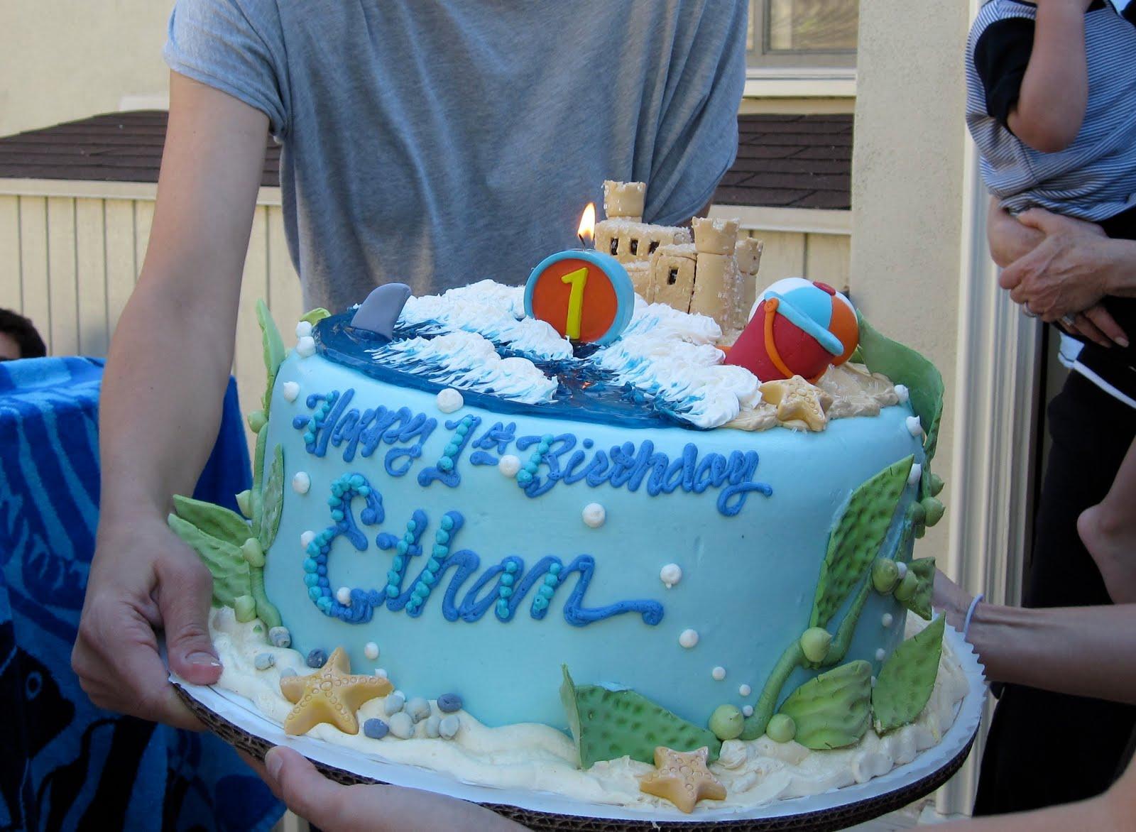 Beach First Birthday Party