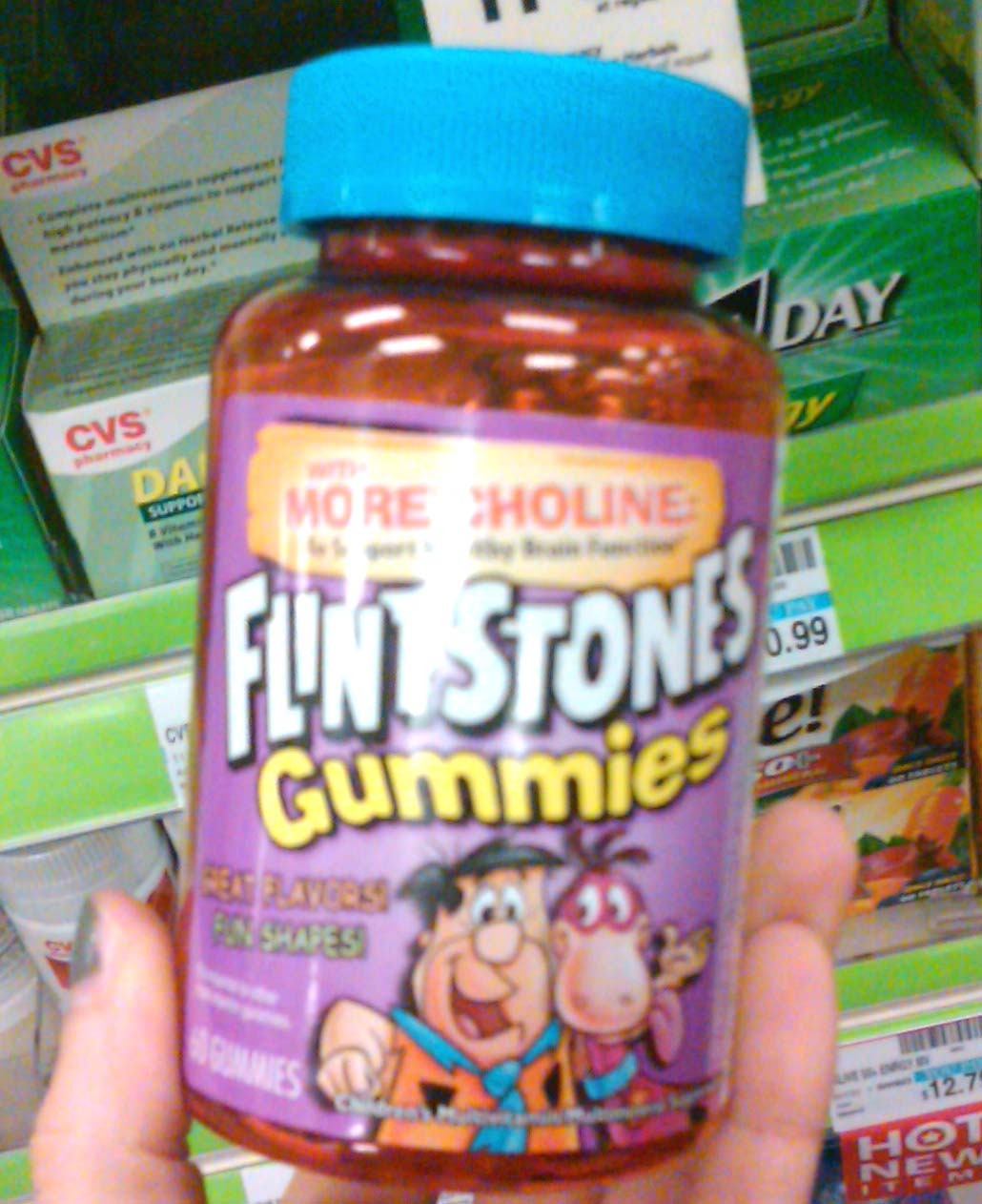 Adult flintstone vitamin
