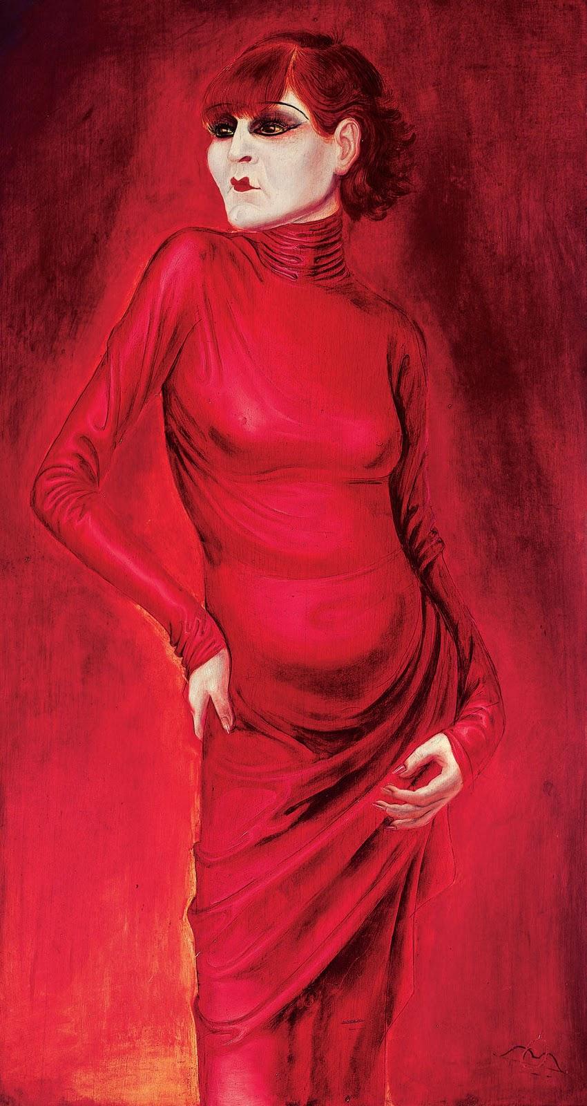 Resultado de imagen de Retrato de la bailarina Anita Berber