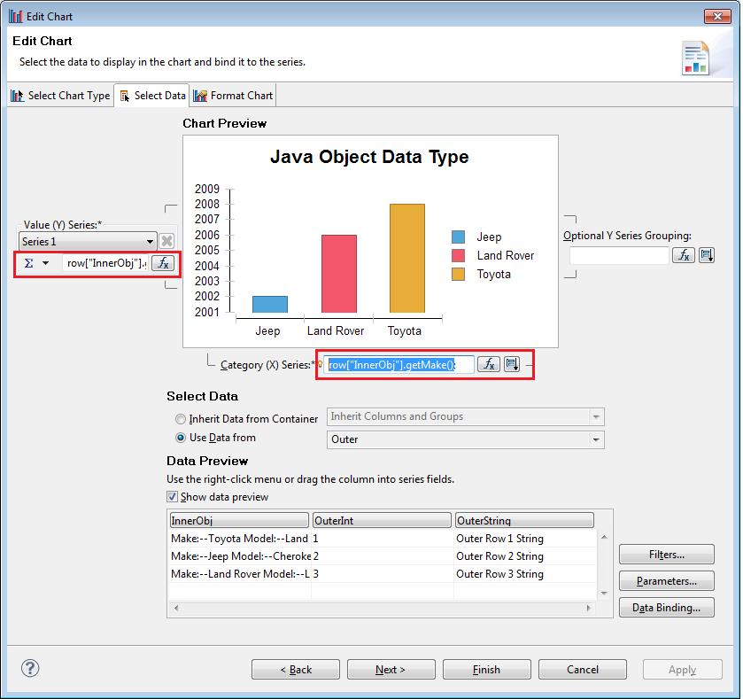 BIRT World: BIRT Java Object Data Type