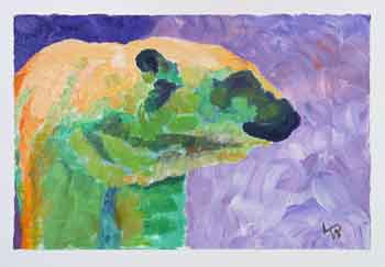 Artistic Polar Bear Challenge 100 Ways In Days 64