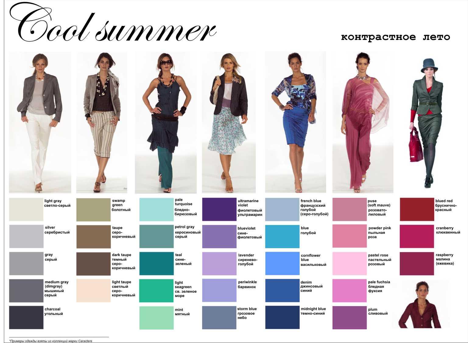 cool summer pallette on Pinterest | Soft Summer, Summer ...