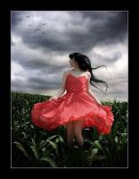 الطبيعة ورقصة عاشقة