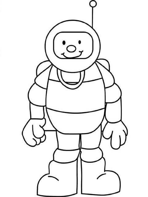 Yeni Sevimli Astronot Boyama En Iyi Boyama Cocuk Kitabi