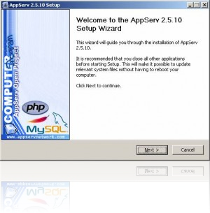 Download appserv open project 2. 5. 10.