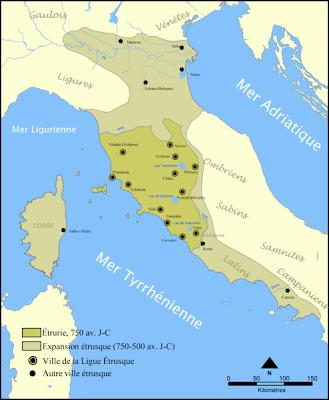 La génétique se propose de résoudre l'énigme de l'origine des Etrusques