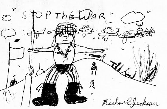 Thoughts of Michael J. Jackson: Stop the War