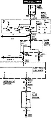 1984 lincoln town car  car wiring diagram