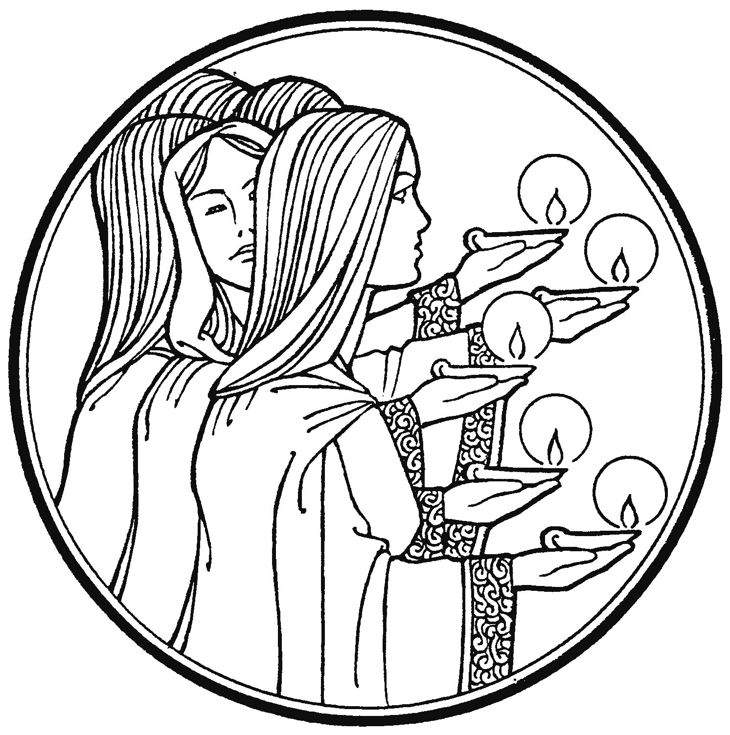matthew 25 coloring pages - photo#27