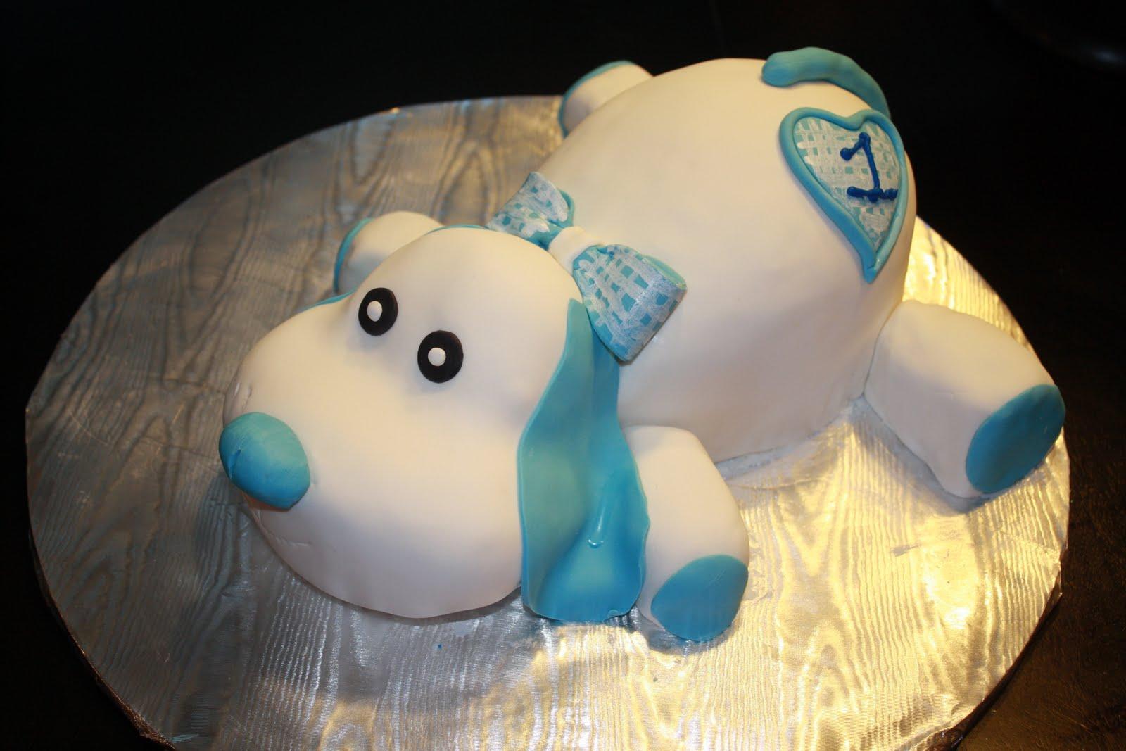 Hock Cakes Llc 1st Birthday Puppy And Smash Cake Bone