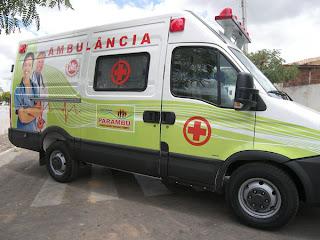 Resultado de imagem para ambulancia de parambu