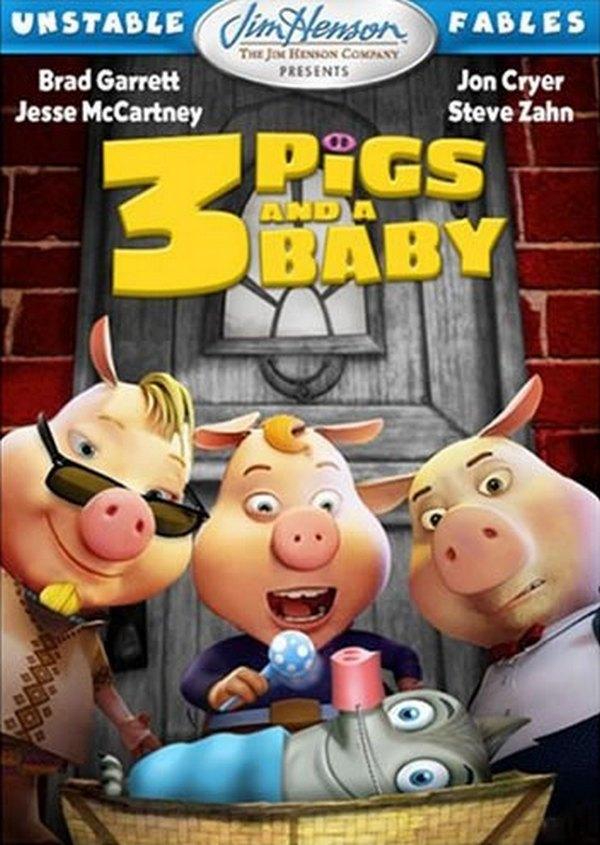 Baixar Filmes 3 Porquinhos e Um Bebê - Dublado