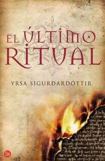 El ultimo ritual – Yrsa Sigurdardottir