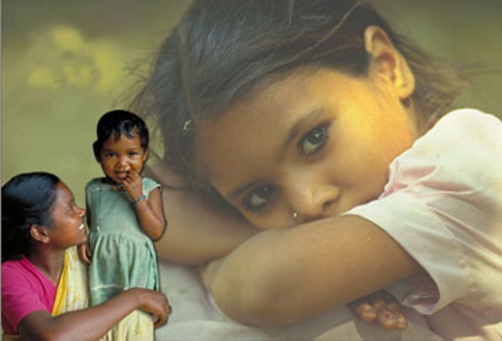 Falling girl child ratio in india