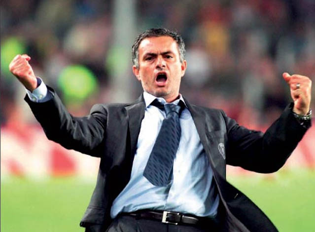 Jos? Mourinho, entrenador del Real Madrid