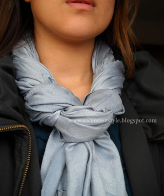 Fun ways to tie your Scarves  lifestyle Ways Tie Scarves Women