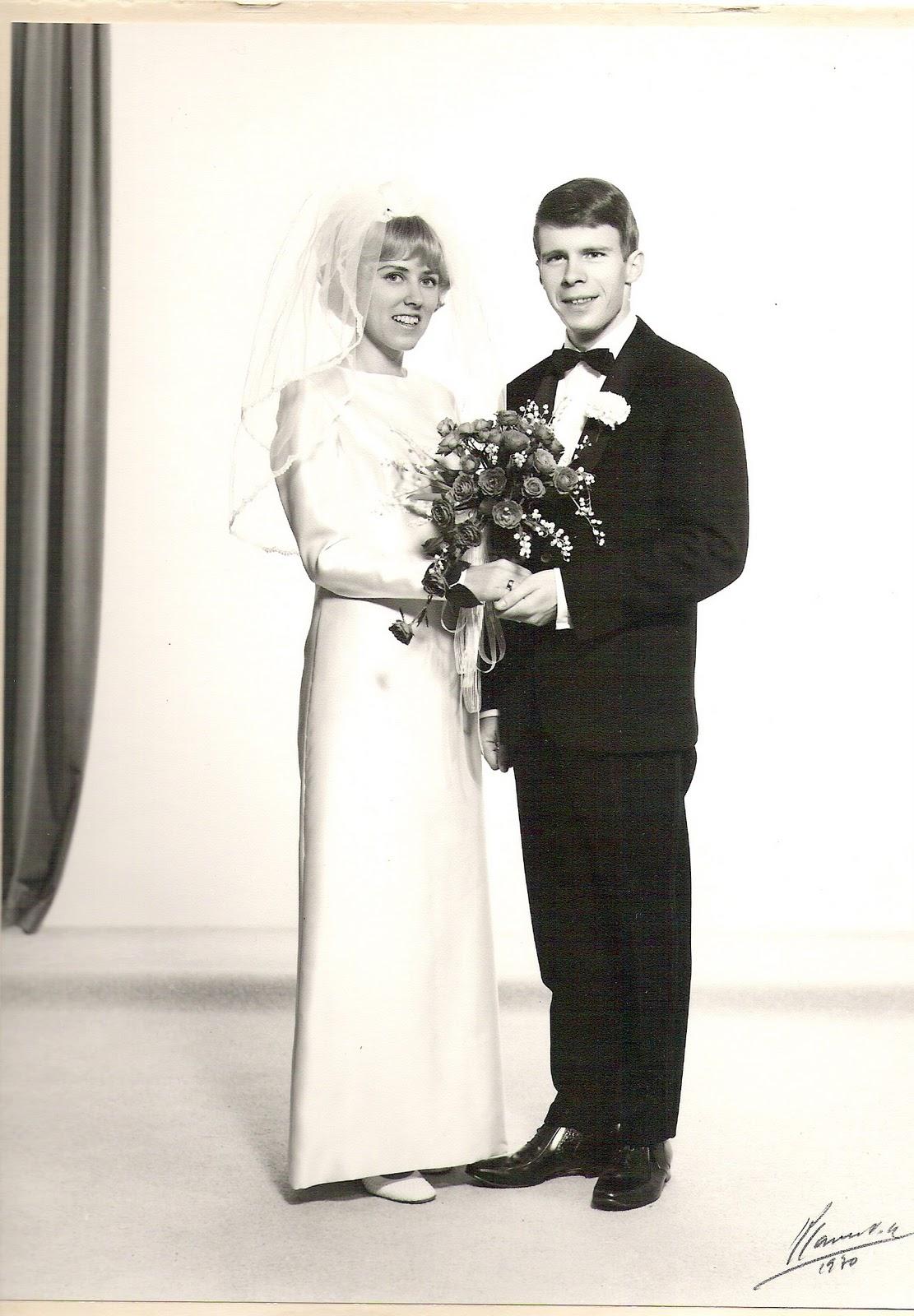 40-års bryllupsdag!