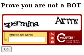 Enjoy ur trip to Technology: CAPTCHA: