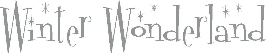 wordswherever vinyl lettering winter wonderland. Black Bedroom Furniture Sets. Home Design Ideas