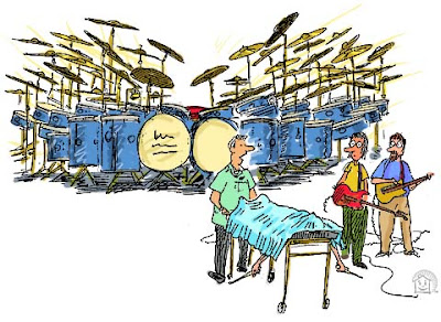Kuza Sanaa: February 2014   Cartoons About Drummers