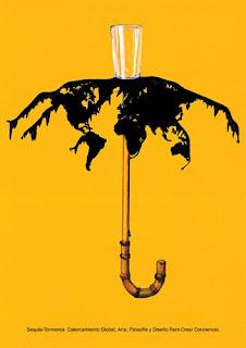 cartel sobre el planeta, ecologico