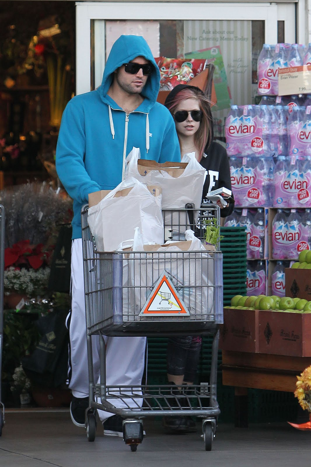 Was brody dating avril during the hills