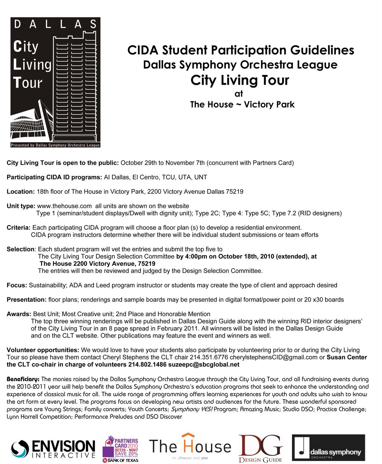 Interior Design Blog Cida Student Competition