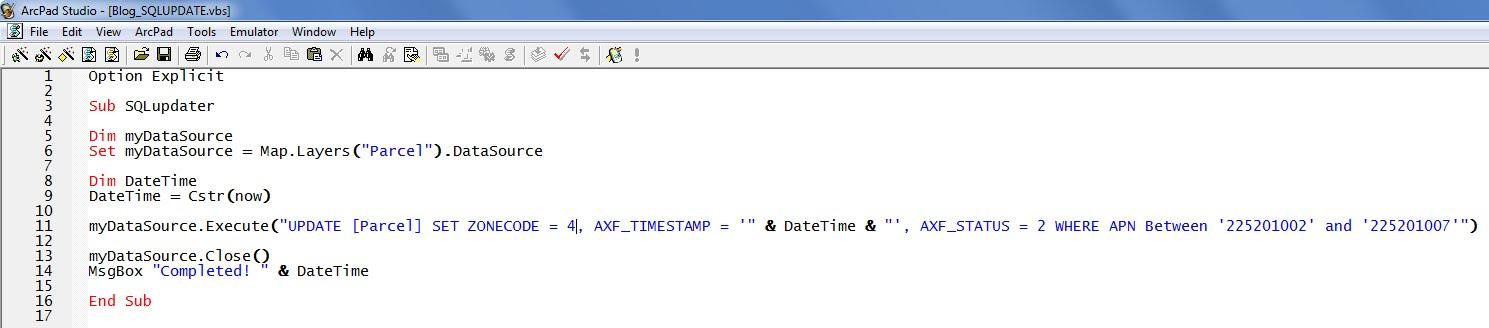 The ArcPad Team Blog: November 2010