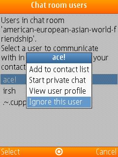 Xml hack symbian nimbuzz chat