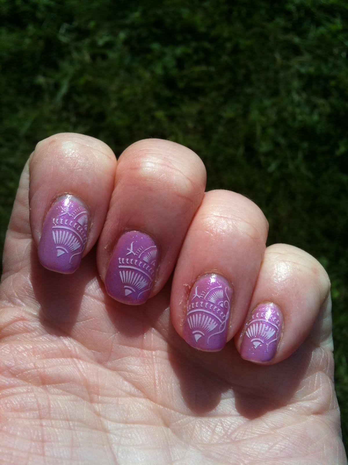 My Nail Polish Obsession My Birthday Nails: Canadian Nail Fanatic: My Vacation Nails