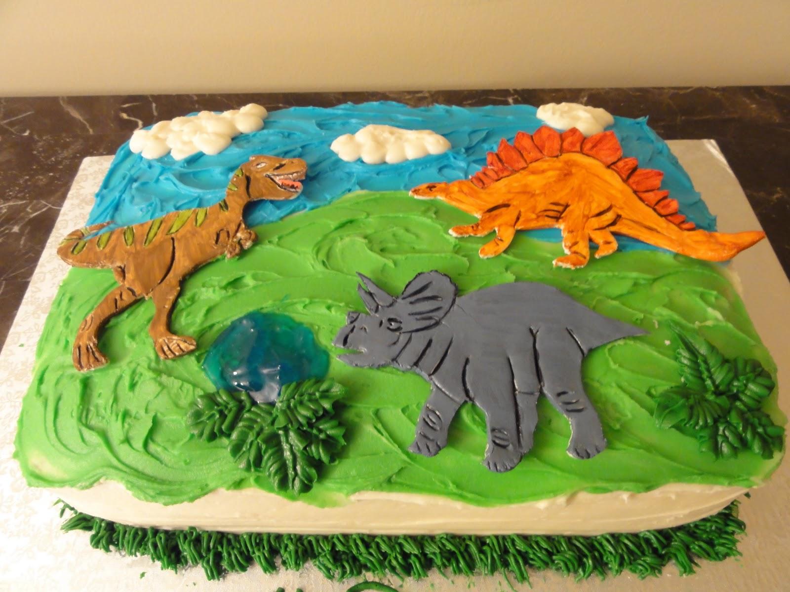 Sugar Shack Dinosaur Cake