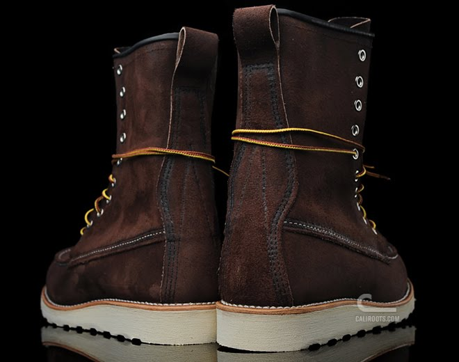 8b5ca4d9db1 The Caliroots Blog: Red Wing 10 hole moc boot now instore!