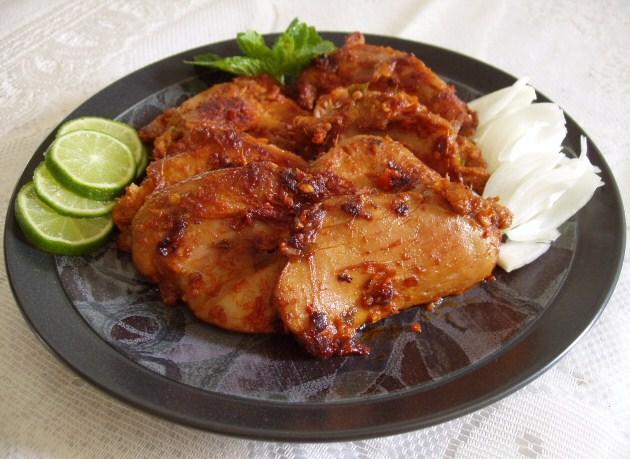 Chicken Breast Indian Street Food
