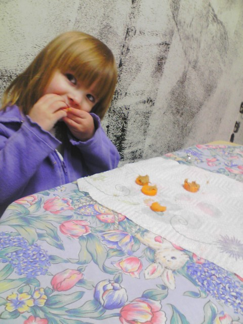 after school carrot snacks for Easter