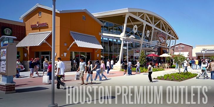 Find all of the stores, dining and entertainment options located at Houston Premium Outlets®.