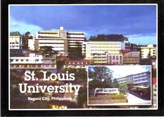 The World Thru Postcards: Saint Louis University, Baguio ... - photo#12