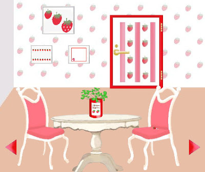 Juegos de Escape Escape from the room which is strawberry Solucion